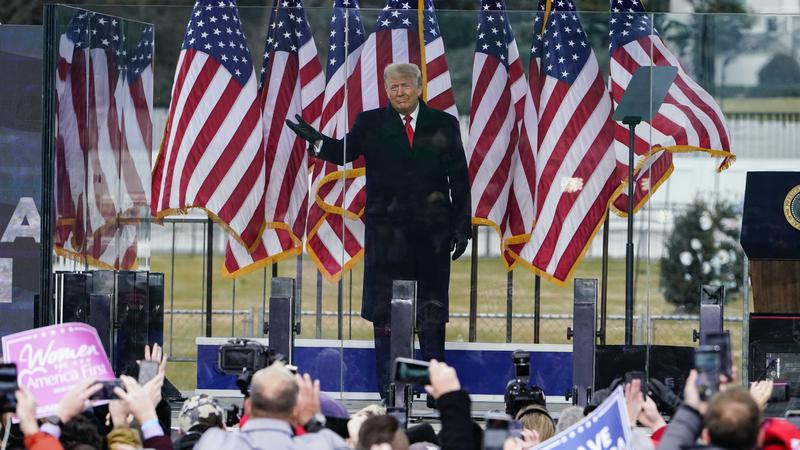 We will never give up, we will never concede' - Donald Trump tells supporters as US Congress convenes to affirm President-elect Joe Biden's victory in the November election