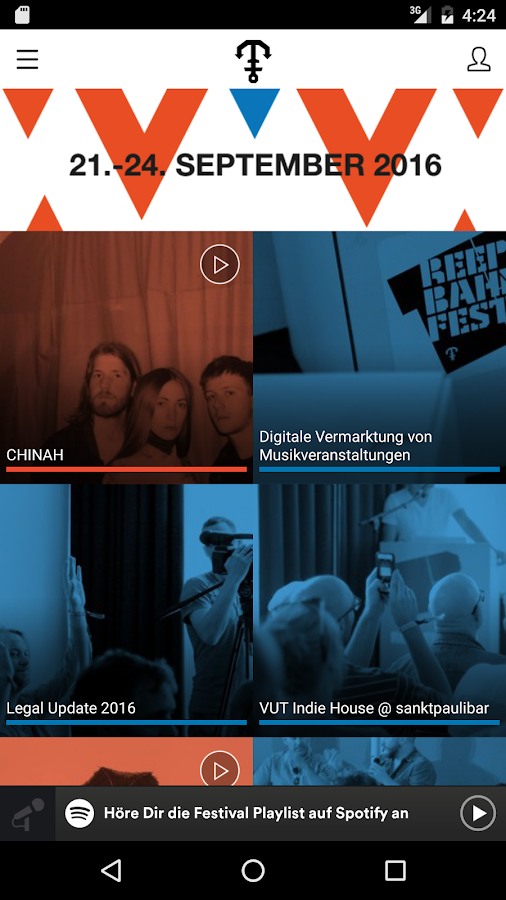 Reeperbahn Festival – Screenshot