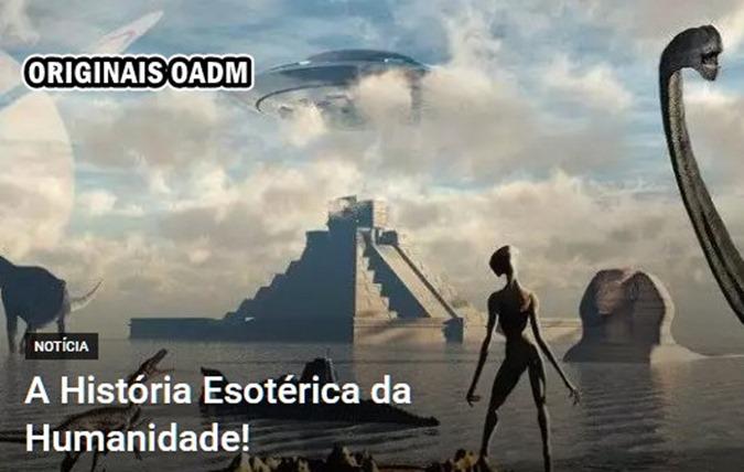 a HISTORIA ESOTERICA DA TERRA