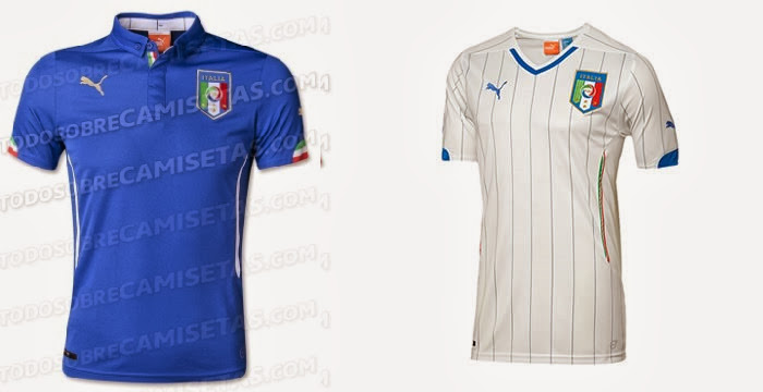 Italy Kits 2014 FIFA World Cup