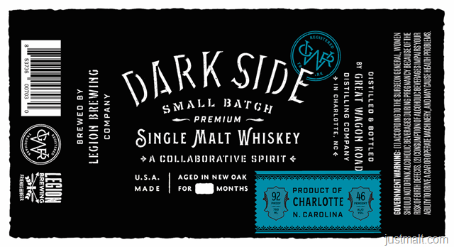 Dark Side Premium Small Batch Single Malt Whiskey