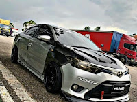 Modifikasi Toyota Vios Limo Gagah Rally