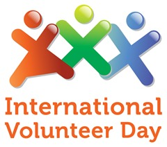 Putin - International Volunteer Day.