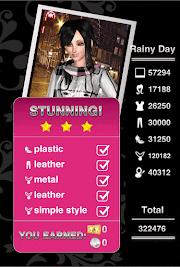 Style Me Girl Level 64 - Rainy Day - Jill - Stunning! Three Stars