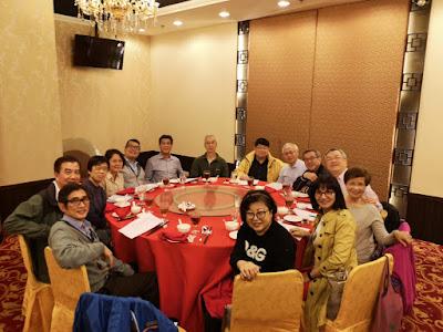 2019年1月12日,十五位同學在海逸皇宮酒樓舉行藍寶石禧第二次籌備會議