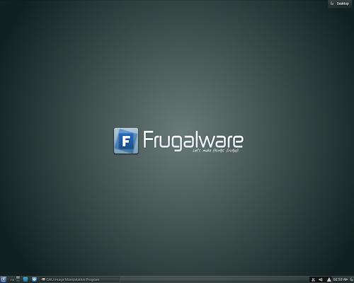 Frugalware 1.7 Gaia KDE