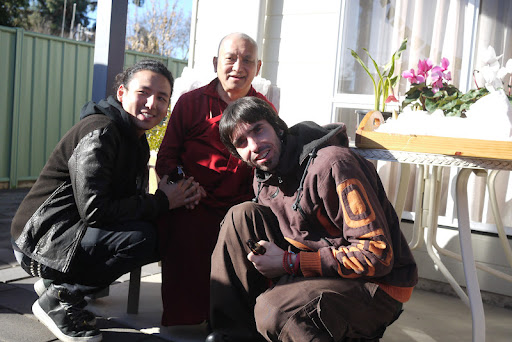 Gomo Tulku, Lama Zopa Rinpoche and Osel in Australia June 2011