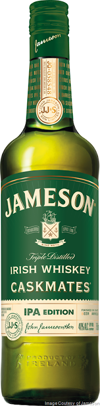 Jameson Irish Whiskey Introduces Jameson Caskmates IPA Edition