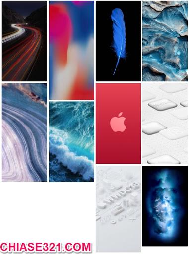 hình nền đẹp cho iPhone iPad macOS Mojave