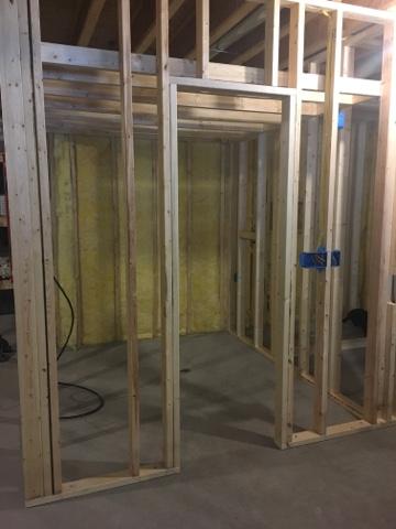 building on love - new basement bathroom