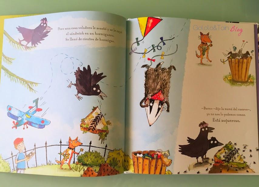 que-asco-de-sandwich-literatura-infantil-cuento-album-ilustrado-humor