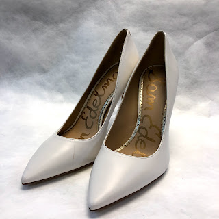 *SALE* Sam Edelman NEW White Pumps
