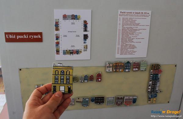 Muzeum Ziemi Puckiej - ułóż pucki rynek