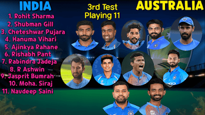 india vs australia match team india player
