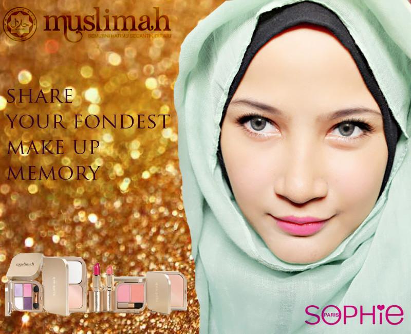 Sophie Paris Muslimah cosmetics Review - Anne