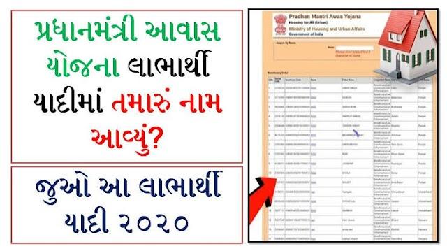 Pradhan Mantri Awas Yojana (PMAY) List PMAY List 2020 - Check Pradhan Mantri Awas Yojana List  Name. New List 2020 Rural And Urban