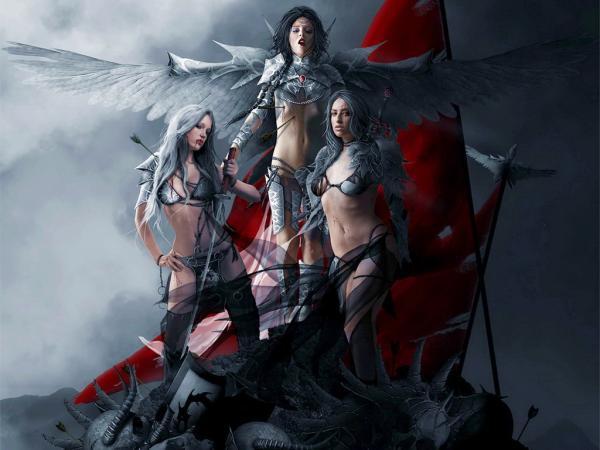 Three Warriors, Warriors