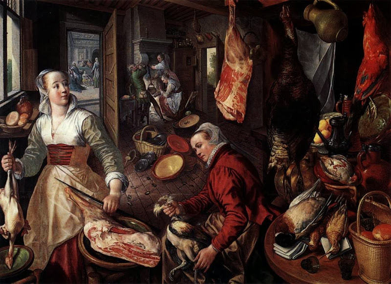 Joachim Beuckelaer - Four Elements.Fire.