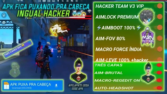 LANÇOU APK REGEDIT VOCÊ VAI DA CAPA INGUAL HACKER APK COM AIMBOT SUPER AIM LOK SUPER