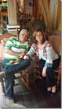 Melbita y Jorge GOicochea