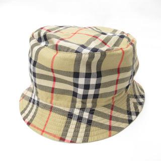 Burberry London Check Bucket Hat