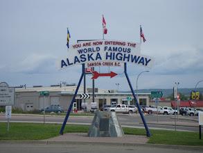 Photo: 2450 km'lik meshur Alaska Highway.
