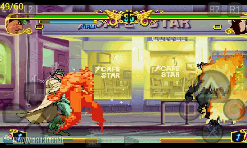 Jojo's Bizarre Adventure PSX Gameplay