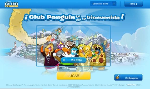 Abrir mi cuenta Club Penguin