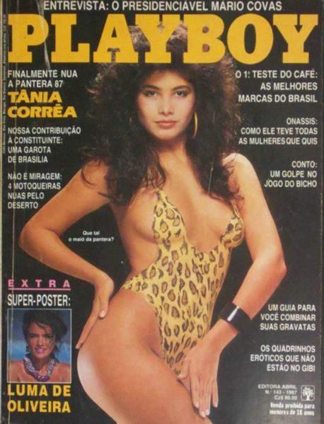 Tânia Corrêa - Playboy 1987