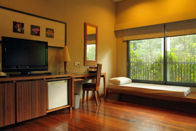 Room of Royal Belum Rainforest Resort tucked amidst beautiful greenery