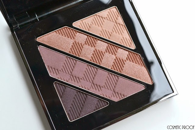 Burberry Complete Eye Palette No.12 Nude Blush Review Swatches