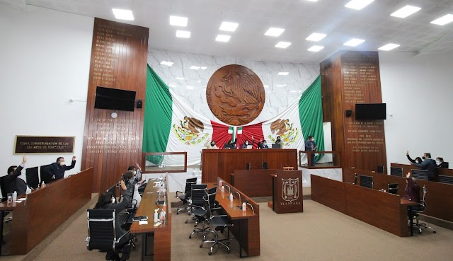 Aprueba congreso de Tlaxcala 59 dictámenes de cuentas públicas