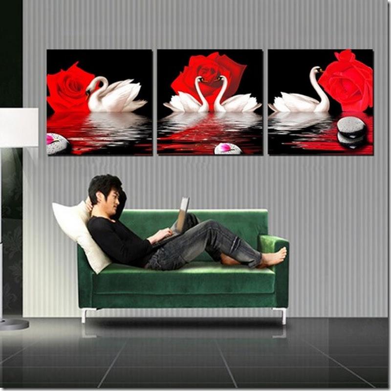 ภาพกรอบลอย ชื่อ หงส์คู่รัก เสริม ฮวงจุ้ย มงคล โชคลาภ ความสวยงามแก่บ้าน 1