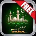 Eid Mubarak Greeting Ecard icon
