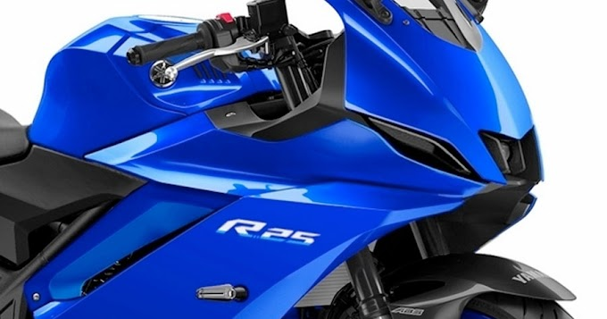 New 2022 Yamaha YZF-R25 / R3 to be launched at the end of this year!