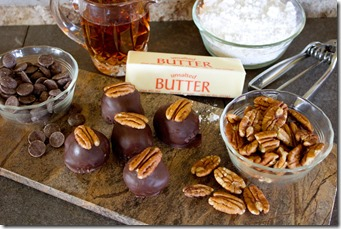 Kentucky-bourbon-ball-ingredients