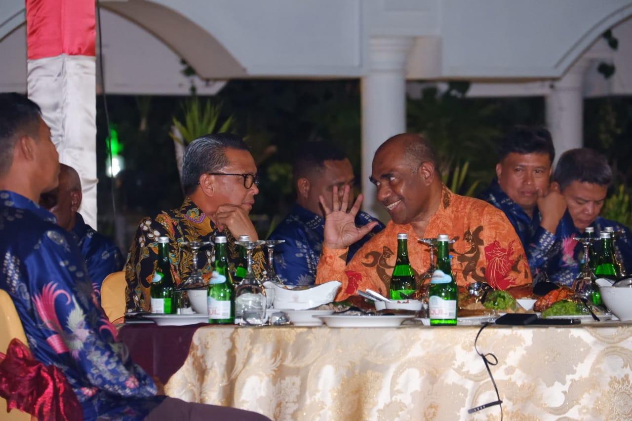 Wujud Kepedulian Ke Warga Papua, Gubernur Sulsel Gelar Ramah Tamah Dengan Peserta Latpim