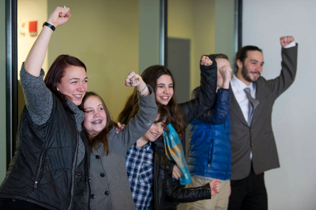 Young plaintiffs suing the U.S. over its responsibility for climate change are seeking documents from an oil industry group that could reveal its involvement in working with the government on climate policy. Photo: Robin Loznak / ZUMAPRESS.com
