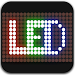 Led scrolling display : share led messages icon
