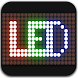 LED scrolling display:  LED messages with emojis