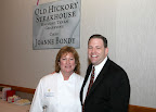 Old Hickory Steakhouse Executive Chef Joanne Bondy and Peter Gerard