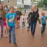 Summerfun Veendam bakt pizza in Oude Pekela - Foto's Willem van der Werf