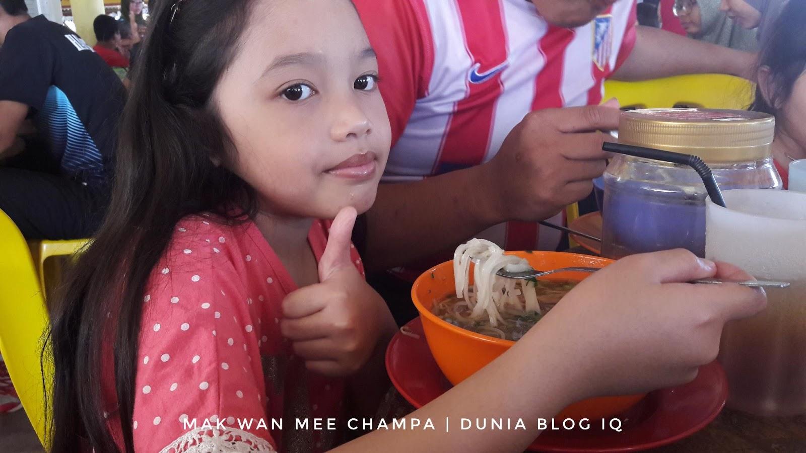 Mak Wan Mee Champa Tarikan Utama Pencari Makanan Di Dungun, Terengganu