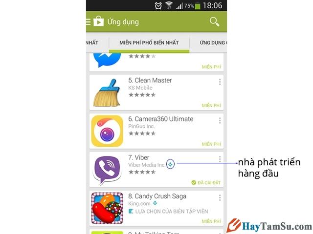 cách tải ứng dụng, game cho điện thoại Android