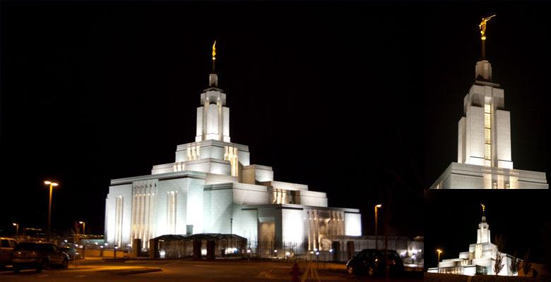 Draper Utah Temple, February 28, 2009