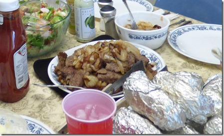 Liver and Onions, Potatoes and Yams