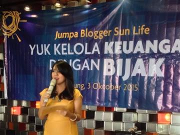 Yuk kelola keuangan dengan bijak bersama Safir Senduk dan Sun Life Financial Indonesia