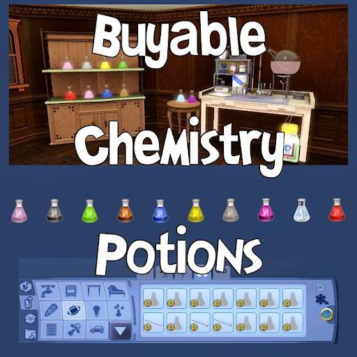 Mod pociones comprables Sims 3