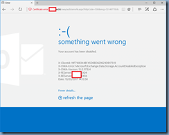 Terence Luk: Attempting to access an account's Outlook Web App (OWA