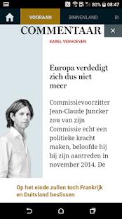 De Standaard- Krant & dS Avond - náhled